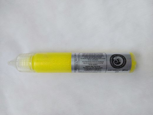 Glitter Gel UV Yellow