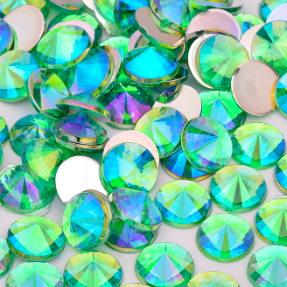 Green AB Gem 6mm, refill