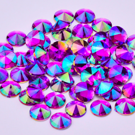 Purple AB Gem 6mm, refill